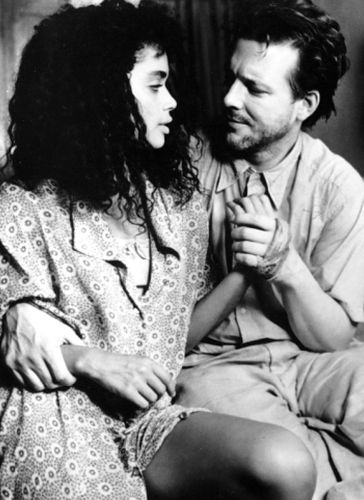 Mickey Rourke and Lisa Bonet