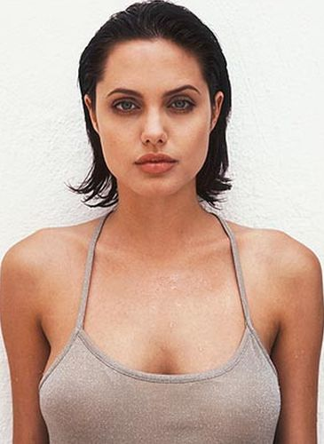 Angelina Jolie Before Cosmetic Surgery