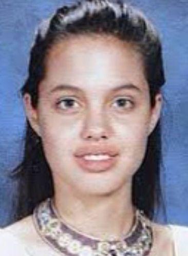 Angelina Jolie School Days Photo