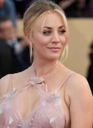 Kaley Cuoco After Cosmetic Surgery