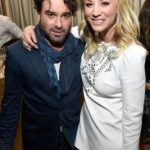 Kaley Cuoco and Johnny Galecki 150x150