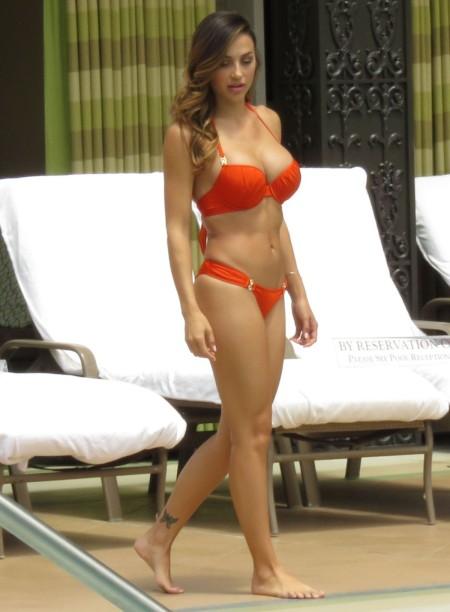 Ana Cheri Red Bikini