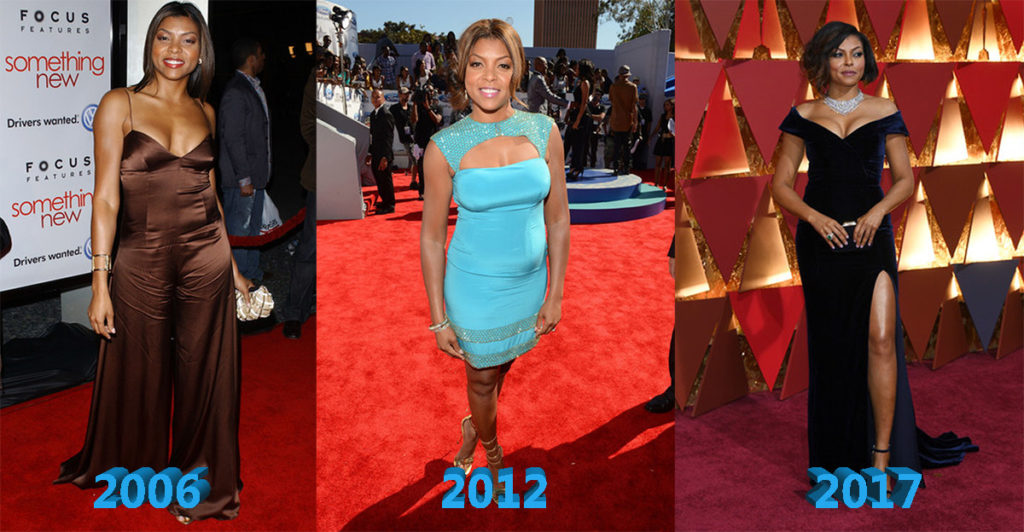 Taraji P Henson Before And After