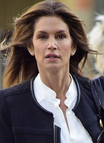 Cindy Crawford After Cosmetic Surgery