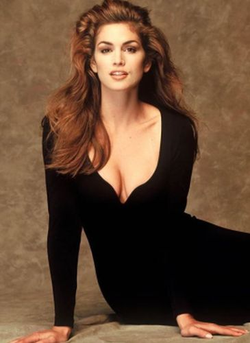 Cindy Crawford Before Cosmetic Surgery