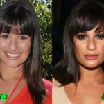 Lea Michele Before and After Nose Job Surgery 150x150