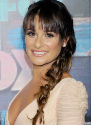 Lea Michele Nose Job Surgery Rumors