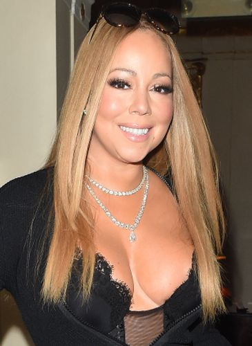 Mariah Carey After Breast Enlargement Surgery