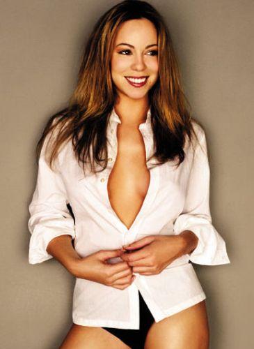 Mariah Carey Before Breast Enlargement Surgery