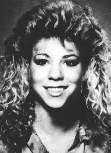Mariah Carey School Photo