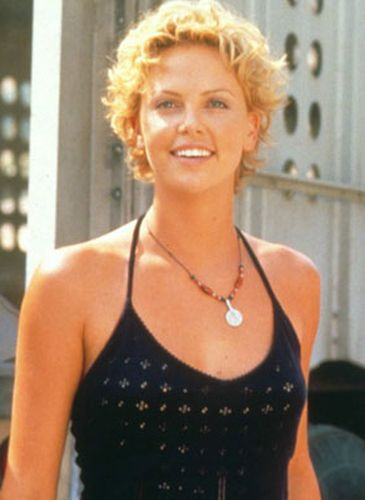 Charlize Theron Before Cosmetic Surgery