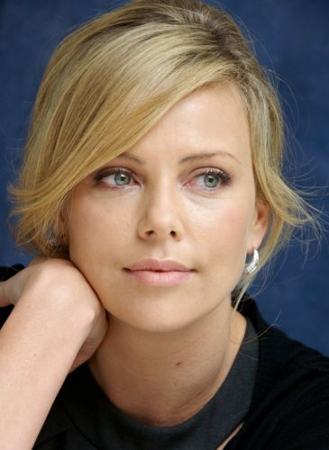 Charlize Theron Before Plastic Surgery