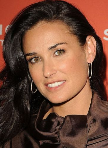 Demi Moore Before Cosmetic Surgery