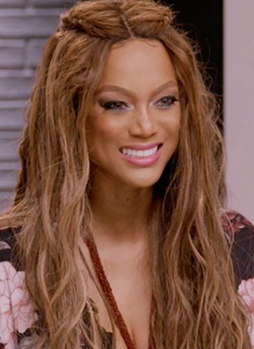 Tyra Banks After Nose Job Procedure